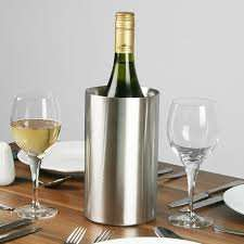 Home Bargains Stainless Steel Double Wall Wine Cooler £3.49 in store.