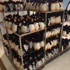 Monty & Mable penguins £12 @ John Lewis (Oxford Street)