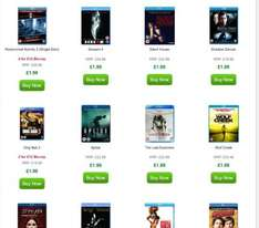 Blu ray Sale at Zavvi from £1.99