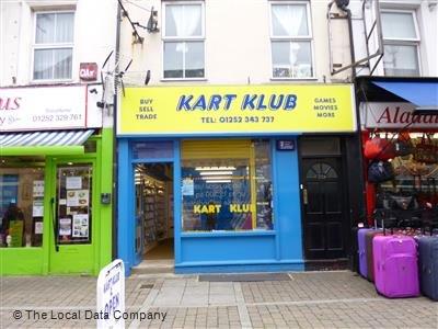 Kart Klub is closing soon, with half price on everything, Aldershot Town, near Lidl