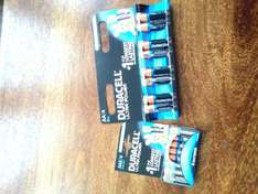 AA and Aaa battery's 8 x Duracell ULTRA POWER 7.99 buy 1 get 1 free you can mix and match Morrisons in store