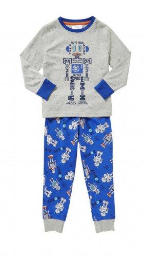 Boys Robot Pyjamas sizes 2-8yrs from £3 @ F&F (Tesco clothing)