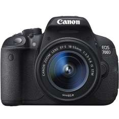 Canon EOS 700D SLR Camera with Free Manfrotto Advanced Gear Backpack, SanDisk 32GB Extreme Pro 95MB/Sec SDHC Card + £50 Wex Voucher, worth £188 and Canon £50 Winter Cash back £539 @  Wex Photographic