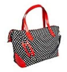 Polka Print Weekend Bag (& 10 Sheets Of Xmas Wrapping Paper) For £2.00 Delivered From The Brilliant Gift Shop