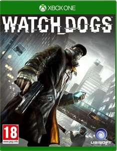Watchdogs PS4 and XBOX ONE £10.00 instore at CEX