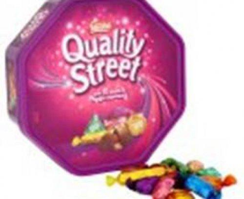 Quality street tub 780g only £3.49 @ b&m stores.