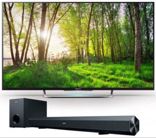 "Sony Bravia KDL-42W829BBU Smart 3D 42"" LED TV with Sony HT-CT60BT Soundbar £509 or £469 for o2 priority customers @ Currys"