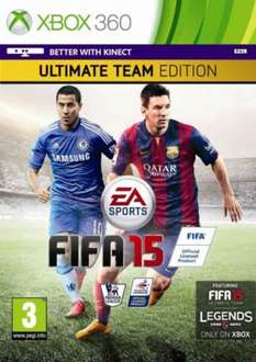 Fifa 15 Ultimate Team Edition for XBox 360 £25 @ Tesco