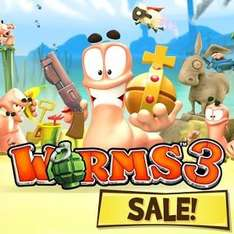 Worms 3 £0.60p - Google Play Store