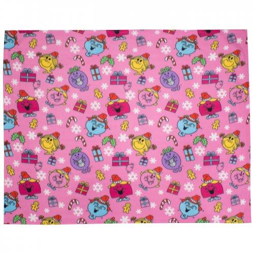 Asda George Mr Men And Little Miss Fleece Blankets Online £3.50 @ Asda Direct