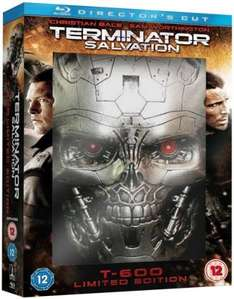 Terminator Salvation Directors Cut T-600 Limited Edition Packaging Blu-ray £3.99 @ 365games