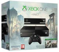 Xbox One console + Kinect + 3 games (Assassin's Creed Unity, Black Flag + Dance Central Spotlight) + Linx Tablet £389.99 delivered in time for Christmas from amazon
