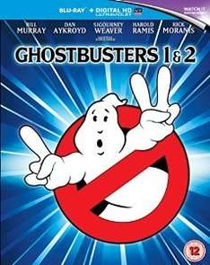 Ghostbusters 1&2 Blu-ray £8.00 @ Amazon  (free delivery £10 spend/prime)