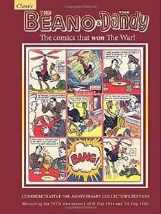 Beano & Dandy classic wartime annual reprinted - poss misprice at £1.99 @ Amazon  (free delivery £10 spend/prime)