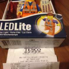 Lego mini key light emmet £1.50 @ Tesco