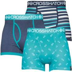 Crosshatch Boxer Shorts  |  2 Pack @ 4.99/7.99  |  3 Pack @ 9.99/10.99/11.99  |  Free Delivery with Code  |  M and m Direct