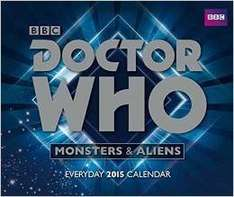 DESK Calendars £1.99 @ Amazon including Dr.Who  (free delivery £10 spend/prime)