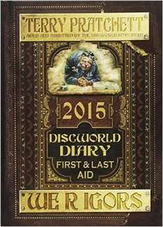Discworld Diary 2015: We R Igors: First and Last Aid Hardcover £1.99 with free delivery on a £10 spend or prime otherwise it's £4.74 with first class delivery @ Amazon.co.uk