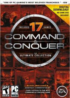 (Origin) Command and Conquer The Ultimate Collection Download - £3.19 - Amazon.com