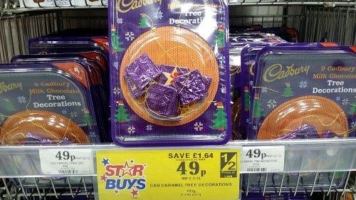 cadburys xmas chocolates 49p @ Home Bargains
