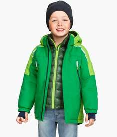 H&M Boys Padded Green Jacket Was £29.99 Now £12.90