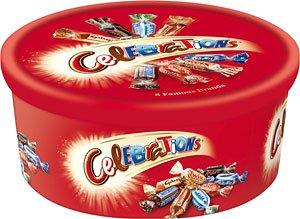 celebration chocolates £4 at Tesco express instore