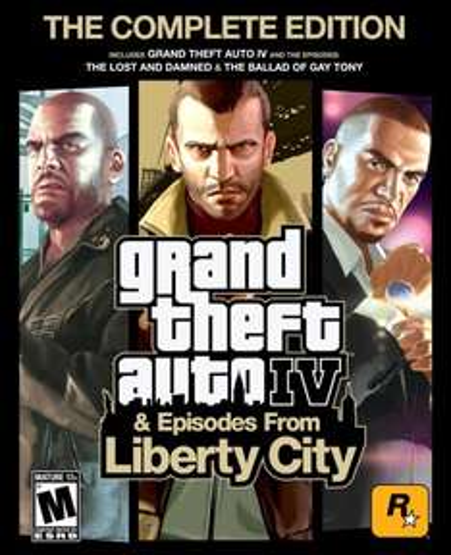 (Steam) Grand Theft Auto IV Complete  -  £2.88 -  Amazon.com
