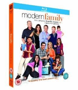 Modern Family Season 4 Blu-ray £12 Amazon UK