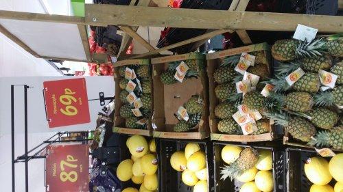 Pineapple just 0.69 each @ Asda