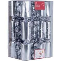 Decadence Monochrome Christmas Crackers - 12 Pack (was £9.99) Now £3.49 at Argos