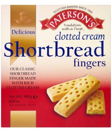 Patersons Clotted Cream Shortbread Fingers (300g) - 50p @ Morrisons