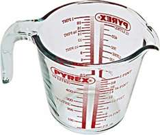 Pyrex Glass Measuring Jug, 0.5L   @ amazon £1.50 ADD ON ITEM (Free delivery £10 spend )
