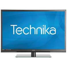 """Technika 24E21B-HDR/DVD 24"""" HD Ready Slim LED TV DVD Combi With Freeview £99.99 @ Ebay Sold by Tesco"""
