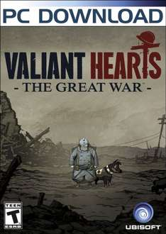 Valiant Hearts: The Great War [Online Game Code] £3.84 @ Amazon US