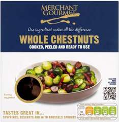 Merchant Gourmet Whole Chestnuts (200g) ONLY £1.00 @ Tesco