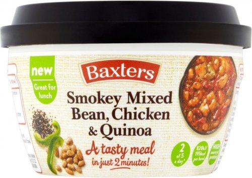 Baxters Smokey Mixed Bean, Chicken & Quinoa (250g) was £2.50 now £1.00 @ Sainsbury's