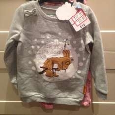 Girls gruffalo set reduced from £12 to £3.60 @ Sainsburys instore