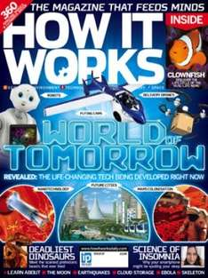 How it works magazine 13 issues saving 52% on shop price £24.99 @ subscribeonline