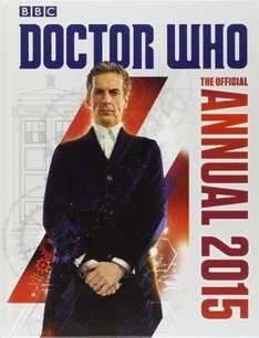 Doctor Who and other 2015 annuals down to 99p @ Amazon