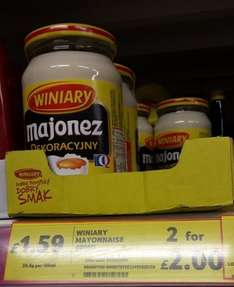 Winiary Mayonnaise Two for £2 - Tesco