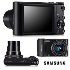 Samsung WB150 14.2 MP & 18x Optical Zoom Digital Camera Colour Black BRAND NEW WITH A 12 MONTH TESCO OUTLET WARRANTY