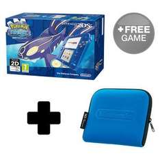 Nintendo online store 2DS Transparent red/blue with Pokemon + case +free game + free next day delivery £114.99
