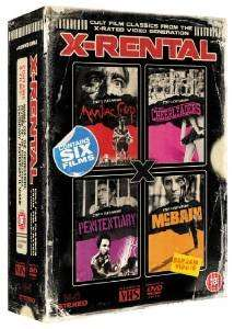 X-Rental: 4 Video Classics box set dvd  (cheerleader 1&2, maniac cop, mcbain, penitentiary 1&2) £7.34 @ Amazon sold by uk_media_offers