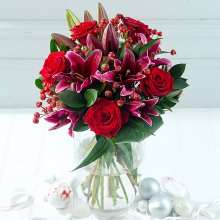 25% off all Debenhams Christmas flowers and 6.3% cashback-  code CSDF25 - Christmas Lily & Rose with Christmas Eve delivery or Scented Christmas with xmas eve delivery