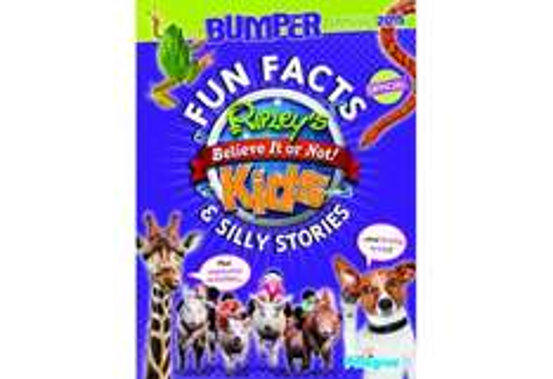 Ripley's Believe It Or Not! Kids Bumper Annual 2015 £1 @ Poundland