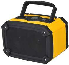 Puregadgets© Rechargeable Heavy Duty Work Site Beach Bluetooth Wireless Speaker - Compatible with Apple iPhone Samsung Galaxy etc WAS £39.99 NOW £19.99 + FREE P&P @ Amazon Electro World