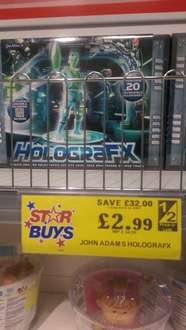 John Adams Holografx - £2.99 down from £34.99 in Home Bargains (Trowbridge Store). Poss National.