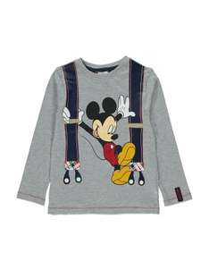Mickey mouse kids top reduced at george at asda £2