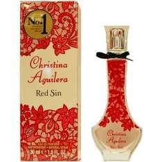 Christina Aguilera Red Sin for Women - 30ml Eau de Parfum £6.99 (65%off) @ Argos