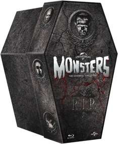 The Classic Monster Coffin Collection (Blu-Ray) £26.99 Delivered @ Zavvi Using Code (£29.99 Without)